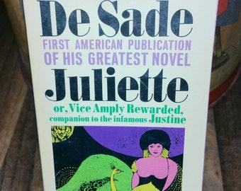 Juliette by DeSade Vintage Paperback Book