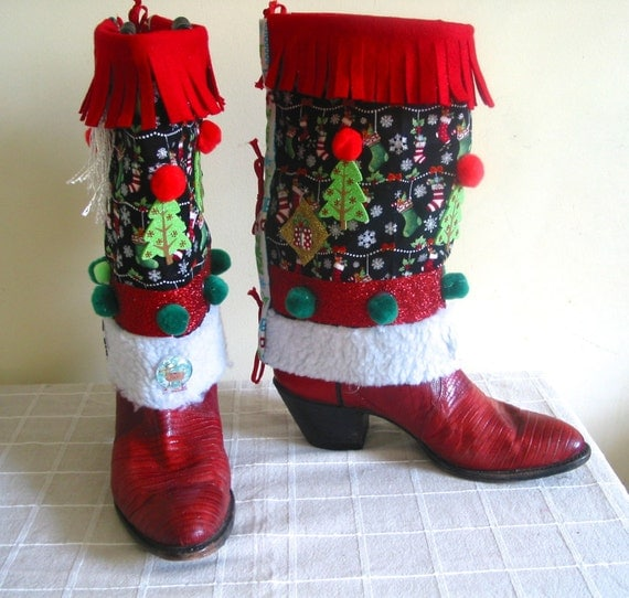 how to make ugly christmas shoes