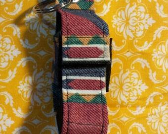 native American fabric inhaler case
