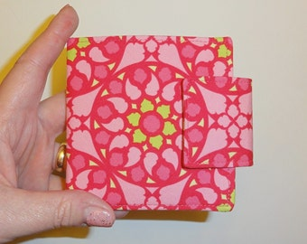 Pink Stained Glass Wallet