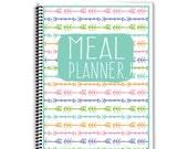 Meal Prep Notebook - Meal Planner - Arrows