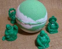 Zen Harmony SuRpRiSe Bath Bomb with Hidden BUDDHA!  Giant LUXE Bomb!