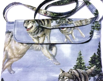 FREE SHIPPING - Wolves in the Snow - Tablet E-Reader Case Cover