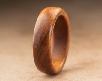 Size 6.5 - Guayacan Wood Ring No. 395