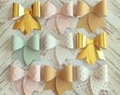 1 Dozen Paper Bows