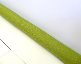 Green Draft Stopper - Plain Green Door Snake - Winter Decor - Unique Home Decor -  Modern Home Decor. A81221