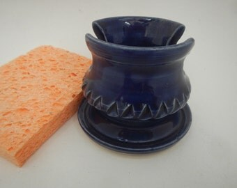 Colbalt Blue Sponge Caddy