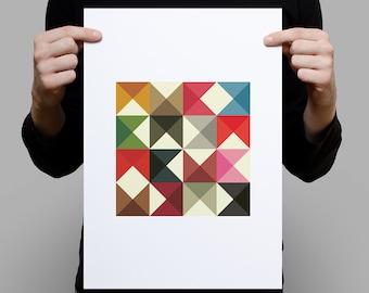 Geometrica A3 Artprint