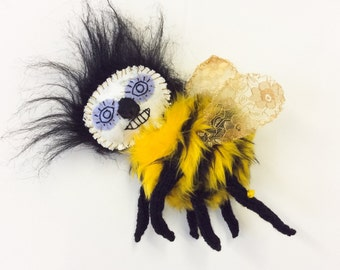 bee - sewn textile insect