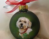 Pet Portrait Ornament