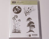 Stampin Up Serene Silhouettes clear mount stamp set