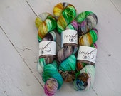 Aspen Sock yarn with nylon 'subway art'