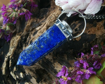 The Magic of Water - Lapis Lazuli Sterling Silver Necklace