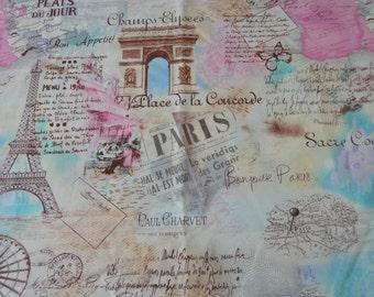 Paris - Timeless Treasures - Cotton - Pattern #Paris-C 9661 - 44in - YOU PICK YARDAGE - 1/2 yd - 1 1/2 yds