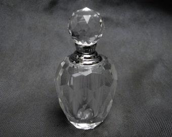 Oleg Cassini Crystal Multifaceted Perfume Bottle New Never Used