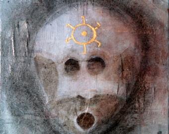 Sundial - Original Painting
