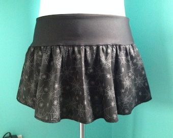 Spiderweb Mini Skirt