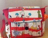 Dr. Seuss inspired diaper bag