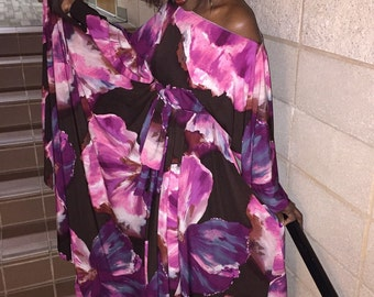 NK Floral Maxi Gown