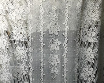 Crocheted Lace Tablecloth