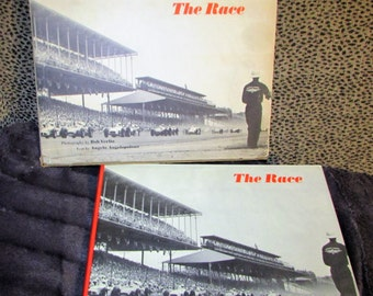 THE RACE Book First Edition 1958 Indianapolis 500 Speedway race Rare Cardboard Cover