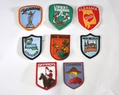 Pick a Patch Vintage States West Virginia Tennessee Alabama Lousiana New Mexico Canada 80s 70s