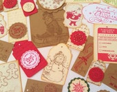 SALE Collection of 30 Best Selling Christmas and Holiday Gift Tags
