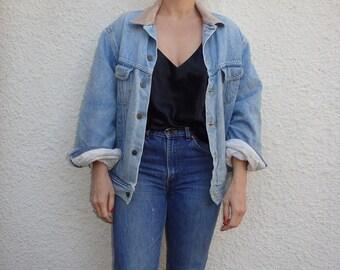 Jean Jacket Vintage Stormrider Cord Collar