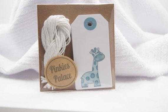 Baby Shower Wish Tree Favor Tags Giraffe T119