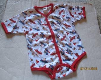 Vintage Baby Toddler MON PETIT one piece tromper 24M