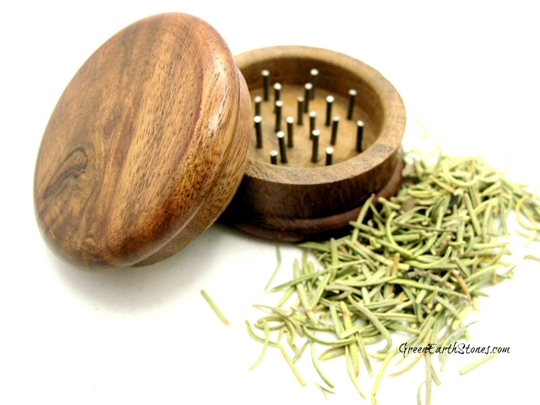 Herb Grinder Small Wood Herbs Herbology Spells