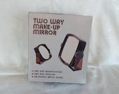 Vintage Two Way Make- Up Mirror