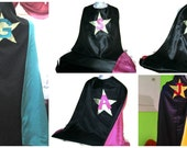 Magician cape reversible personalized
