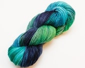 Foxfire - Hand Dyed Wool Worsted Weight Yarn on Classic Fox Base
