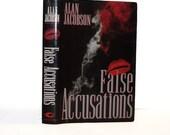 Hollow Book Safe False Accusations Alan Jacobson Book New Dust Jacket Travel Hotel Safe Thumb Drive Hidden Space Cash Money Stash