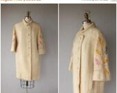 25% OFF SALE... Vintage 60s Coat | Vintage 1960s Coat | 60s Mohair Coat | 60s Wool Coat | Vintage Cocoon Coat | Vintage 50s Coat