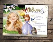 Sofia the First Invitation! Birthday invite