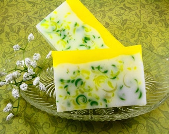 Soap -  Spring Fresh Tulip Soap Made with Shea Butter - Glycerin Soap - Handmade Soap - Easter Soap - SoapGarden