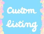 2 Custom Kitty Resin Rings