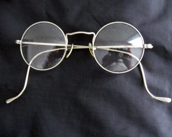 Antique Gold Fill Wire Eye Glasses Spectacles Pretty Design