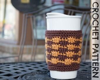 CROCHET PATTERN - Sierra Coffee Cozy