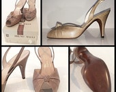 Vintage Bruno Magli Slingbacks - NEVER WORN