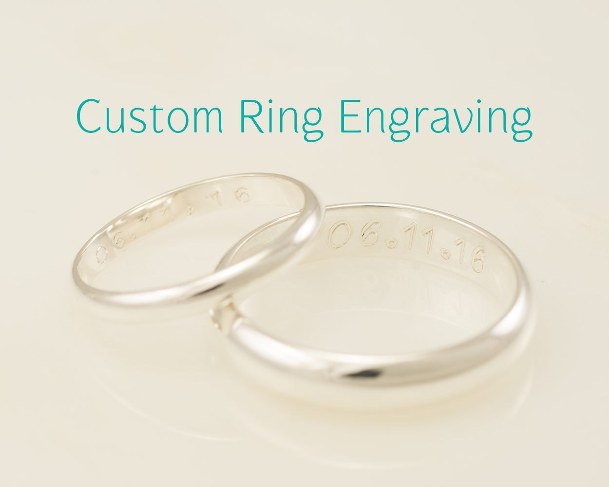 Wedding ring engraving add custom ring engraving engraving for Wedding ring engraving