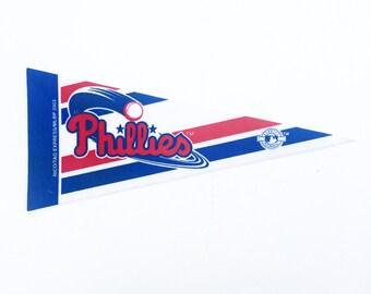 Vintage Philadelphia Phillies MLB Pennant