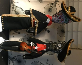 Day of the Dead Mariachi Dolls