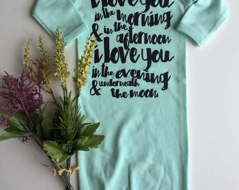 I Love you in the Morning and in the Afternoon - Available in various colors and Sizes