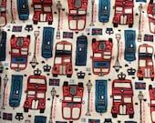 DESTASH SALE *** I Love London Polyester PUL By The Yard