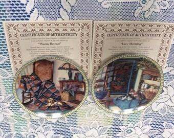 Bradford Exchange Decorative Collectors Plates