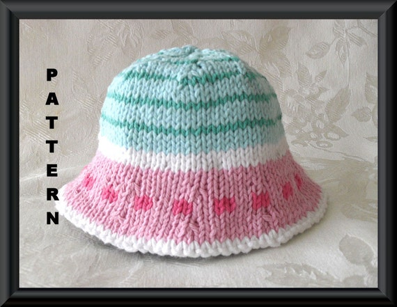 Knitted Hat Pattern Baby Hat Pattern Knitting by ...