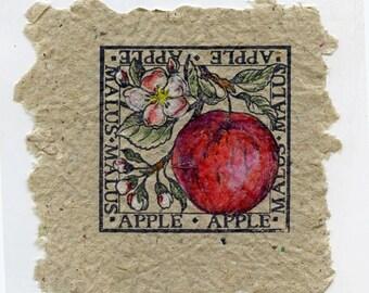 Apples in Tan